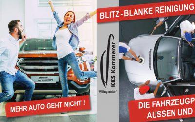 Die Fahrzeugpflege vom Profi – aussen und innen wie neu