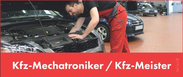 Stellenanzeige Kfz-Mechatroniker / Kfz-Meister